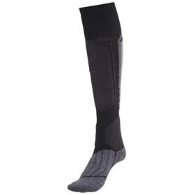 Falke SK1 Skiing - Calcetines Mujer - gris/negro